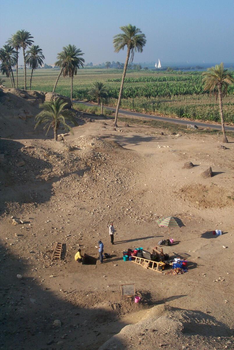 NH2B Excavation Area at El Hibeh, Egypt