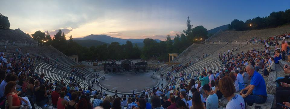 The Theatre at Epidaurus