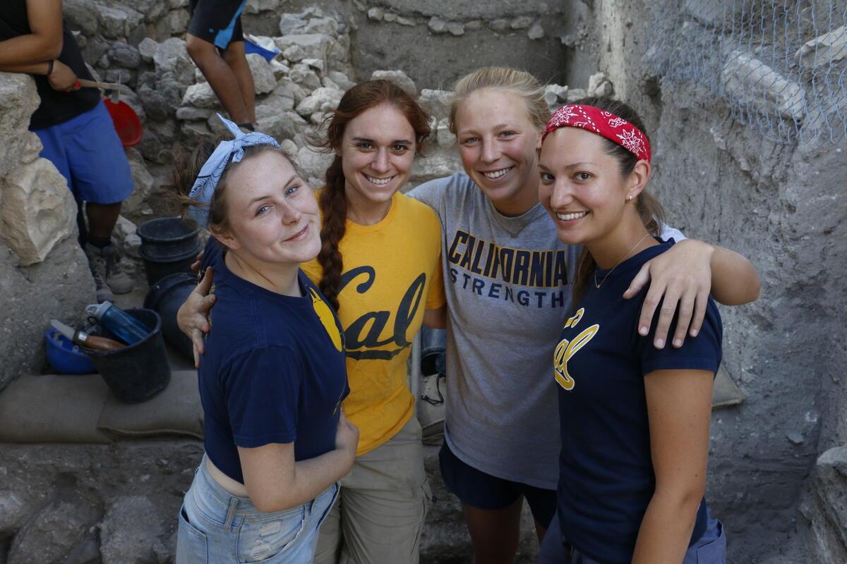 Berkeley Students at Dhiban, Jordan