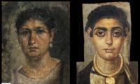 Mummy portraits from Roman Egypt